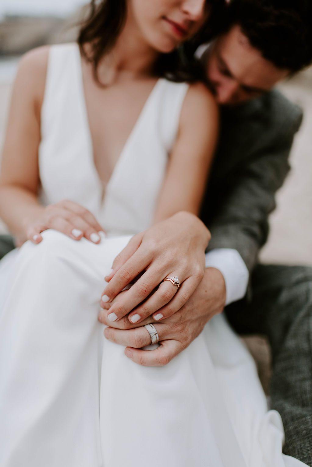 Bhldn Bride Wedding Dress Conrad Gown Jenny Yoo Wedding Ring