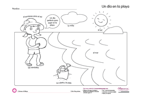 Pin On Free Coloring In Spanish