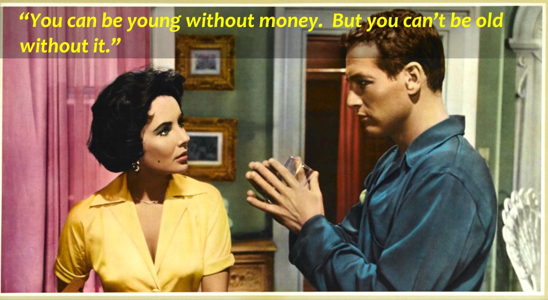Cat On A Hot Tin Roof (1958) Elizabeth Taylor As Maggie Pollitt Https: