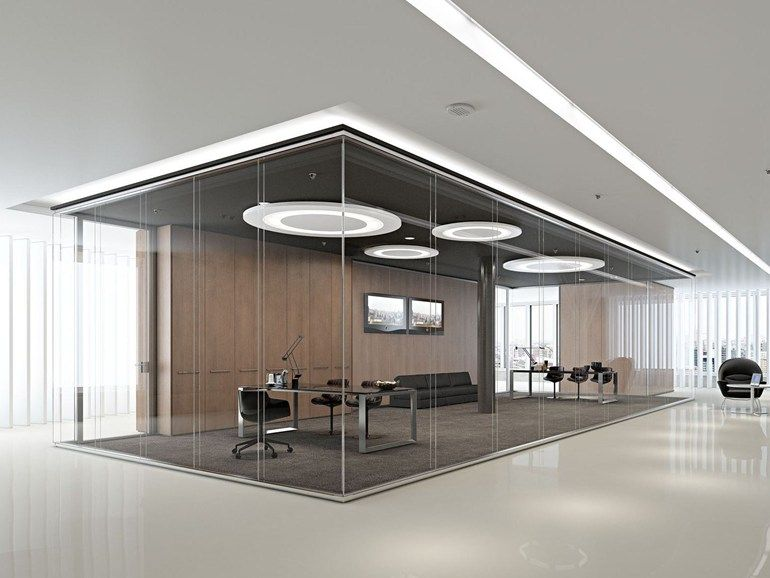 Glass Partition Wall Kristal Twin Arcadia Componibili Gruppo