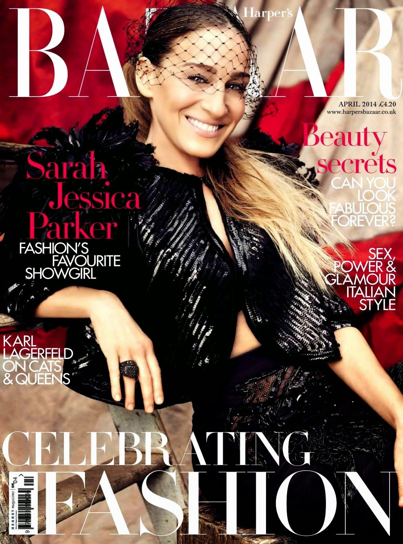 Harperz's Bazaar Uk April14