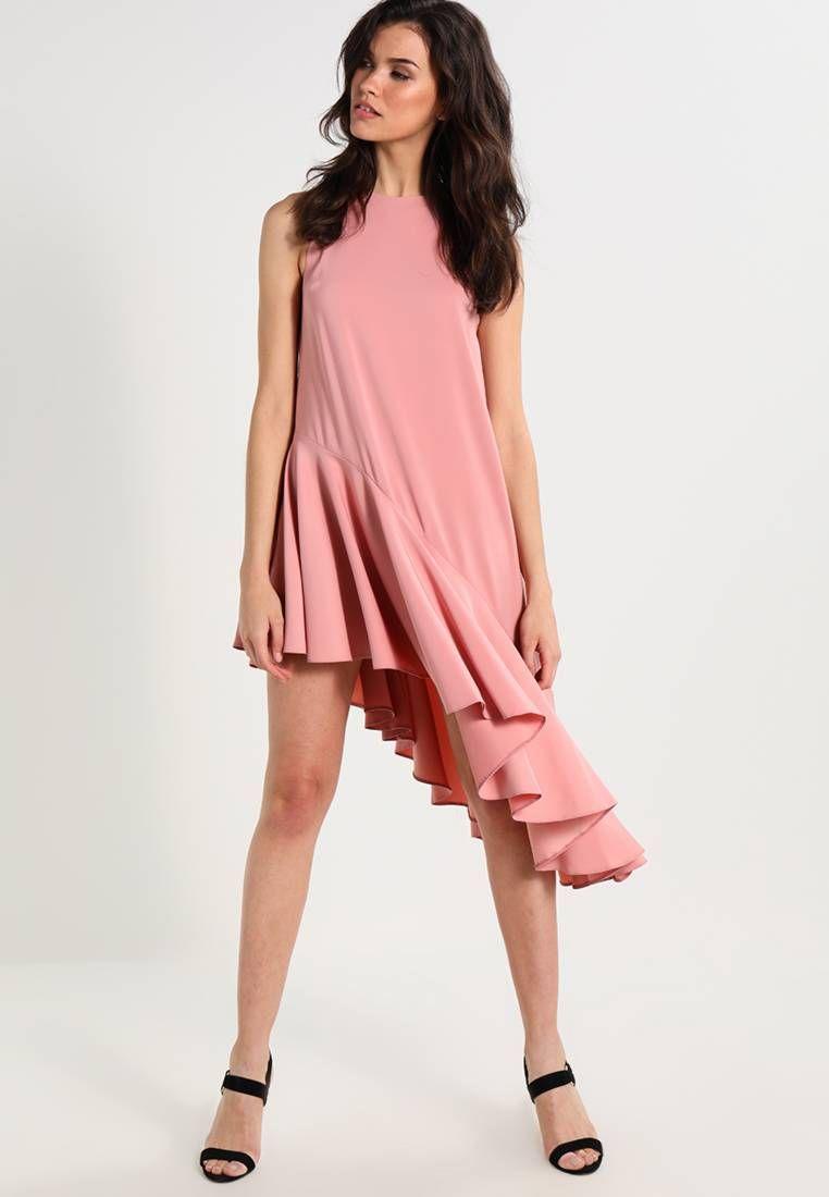 Vestido informal - blush | Vestidos informales, Cuello redondo y La ...