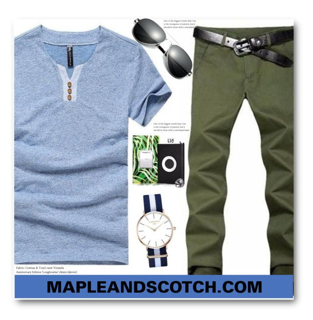 """""""MAPLEANDSCOTCH.COM"""" by edy321 ❤ liked on Polyvore featuring men's fashion and menswear"""