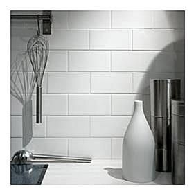 Retro Metro White Flat Wall Tiles7.5x15cm tonsoftiles.co.uk