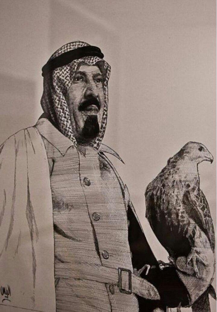 الملك عبدالله بن عبدالعزيز ال سعود من اعمال الفنان محمد الريس Fashion Raincoat History