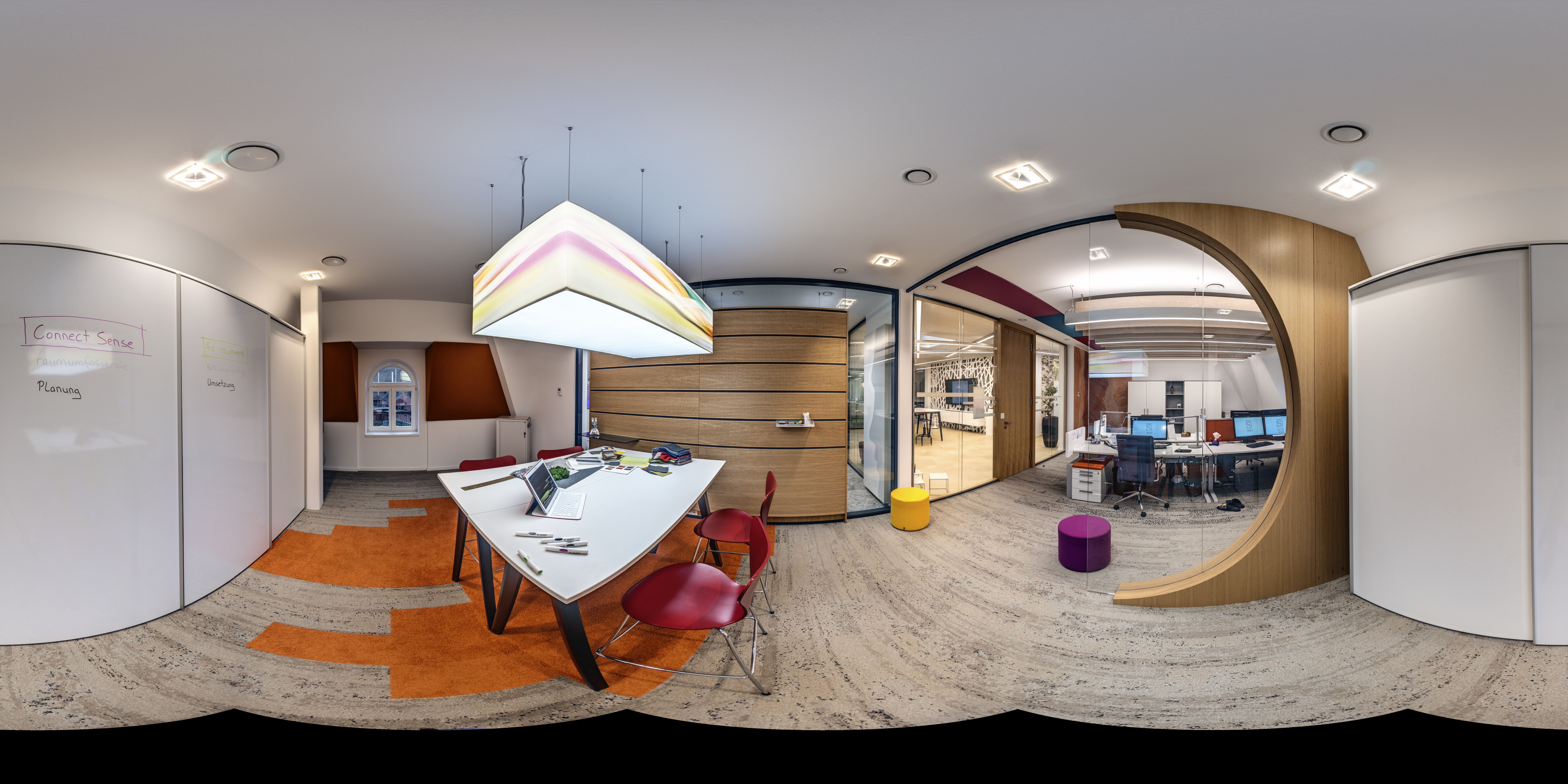 Living Projecting Projektraum Connect Sense Gmbh Co Kg Innenarchitektur Loft Innenarchitekt