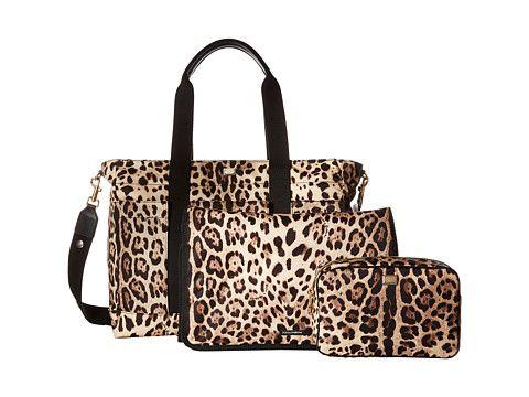 ab25bbfa5d Dolce & Gabbana Kids Leopard Print Diaper Bag (Little Kids/Big Kids ...