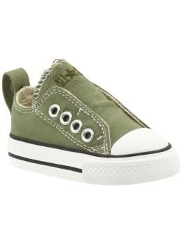 Converse Chuck Taylor All Star Simple Slip (Infant Toddler ... a4b2ae224