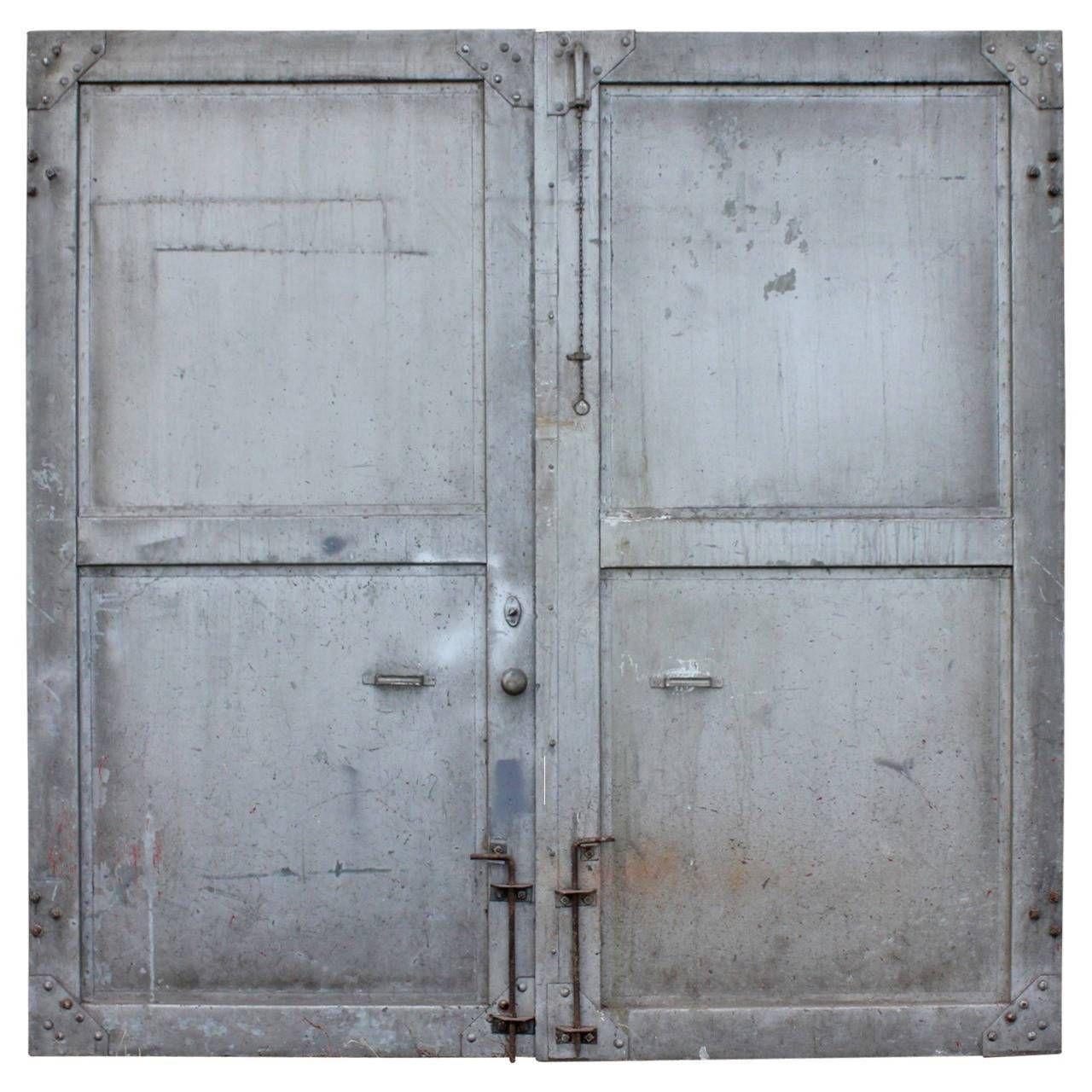 modern door texture. Antique Double Metal Industrial Doors | From A Unique Collection Of And Modern Door Texture P