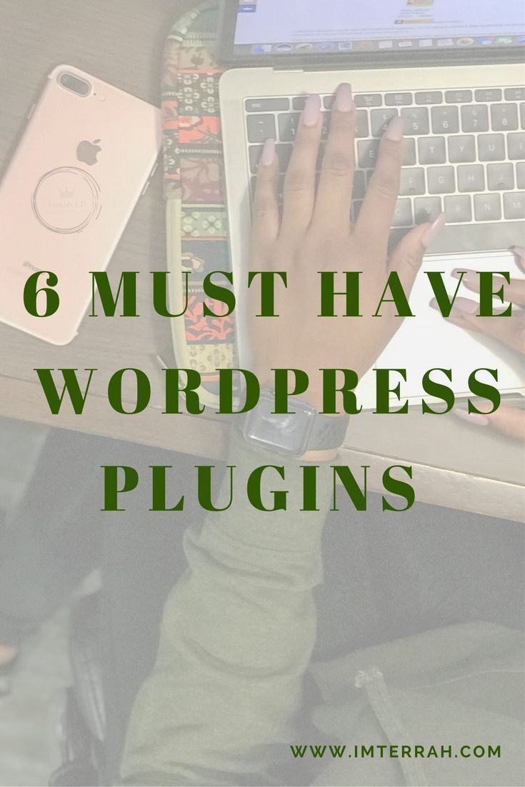 There are so many plugins on WordPress it could be hard to try to figure out the right ones. I dont have a ton of plugins myself, but after conducting further research, I realized you should not have a lot of plugins because it can cause problems with t