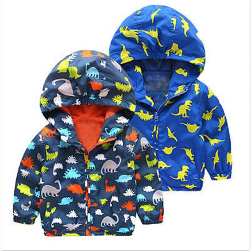 61840559b Autumn Winter Kid Boys Animal Dinosaur Infant Toddler Children ...