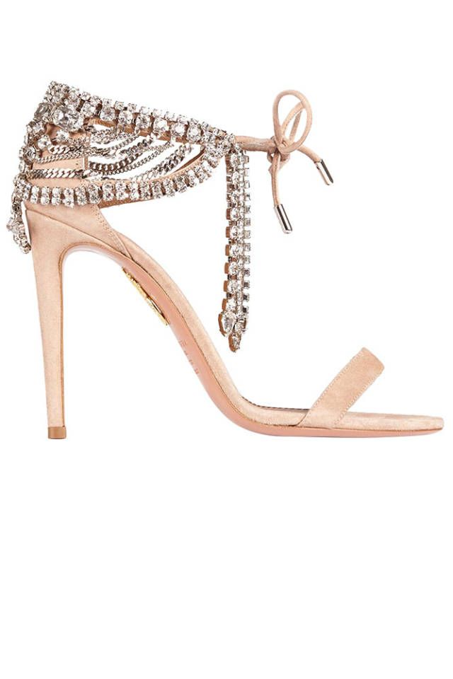 1b6e35aafc6 Blush Pink High Heel Sandals. Have you seen Olivia Palermo s shoe  collection yet  See the full Aquazzura collaboration here