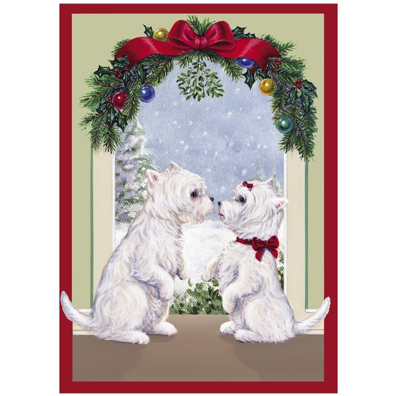 Westie Christmas Cards - The Danbury Mint | Yorkshire terrier and ...