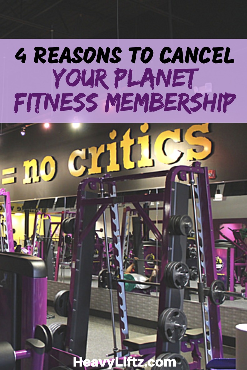 planet fitness cancelling membership