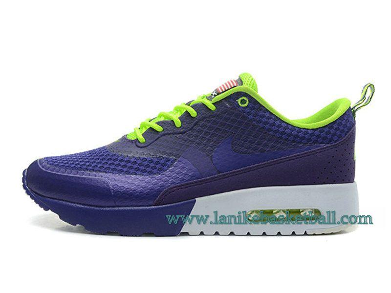 super popular 9b158 376be ... shopping nike air max thea print chaussures de course pour femme fille  bleu vert 627269 79833