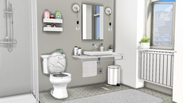 mxims lavabo sink and warsaw bathroom toilet sims 4. Black Bedroom Furniture Sets. Home Design Ideas