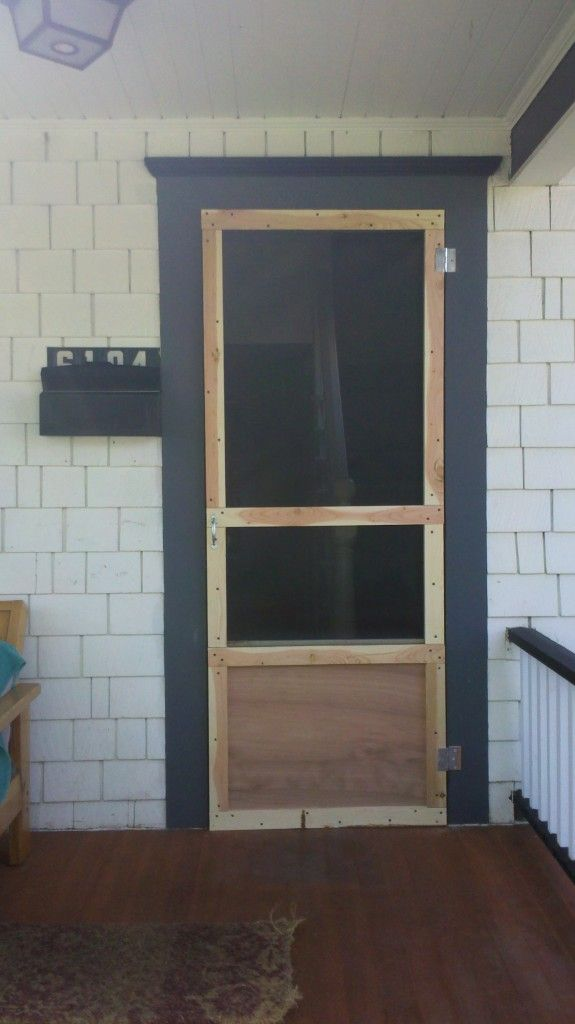 Build A DIY Screen Door! Learn How By Viewing The Full Album Of The Project  At Http://theownerbuildernetwork.co/hult Could This Be Your Next Projecu2026
