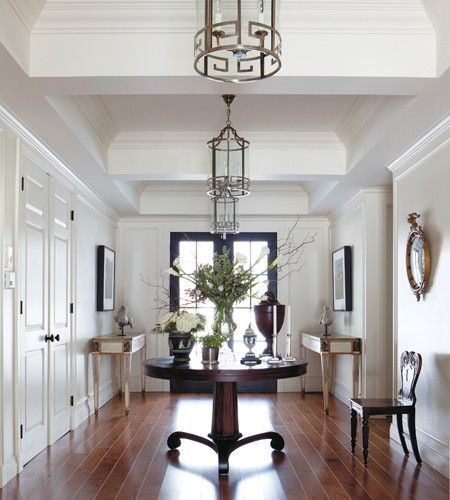Foyer Entry With Round Table It39s On My Dream List Extra Round .