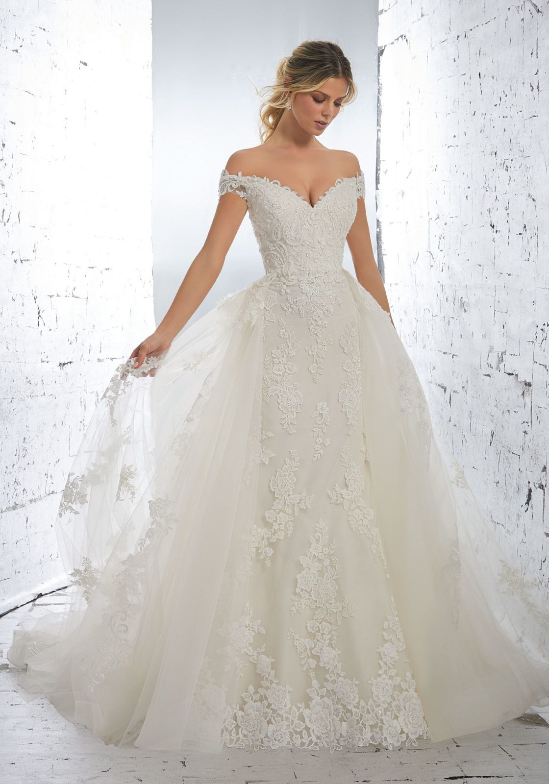 Mori lee madeline gardner wedding dress  Luciana Wedding Dress  AF Couture Fall u  Morilee by Madeline
