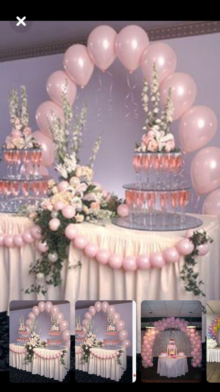 Deco Table Gateau Mariage Bev Denium Diamonds Bday 44th