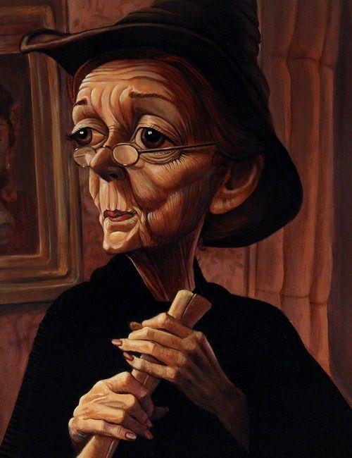 Bob Doucette - Minerva McGonagall | Гарри поттер рисунки ...