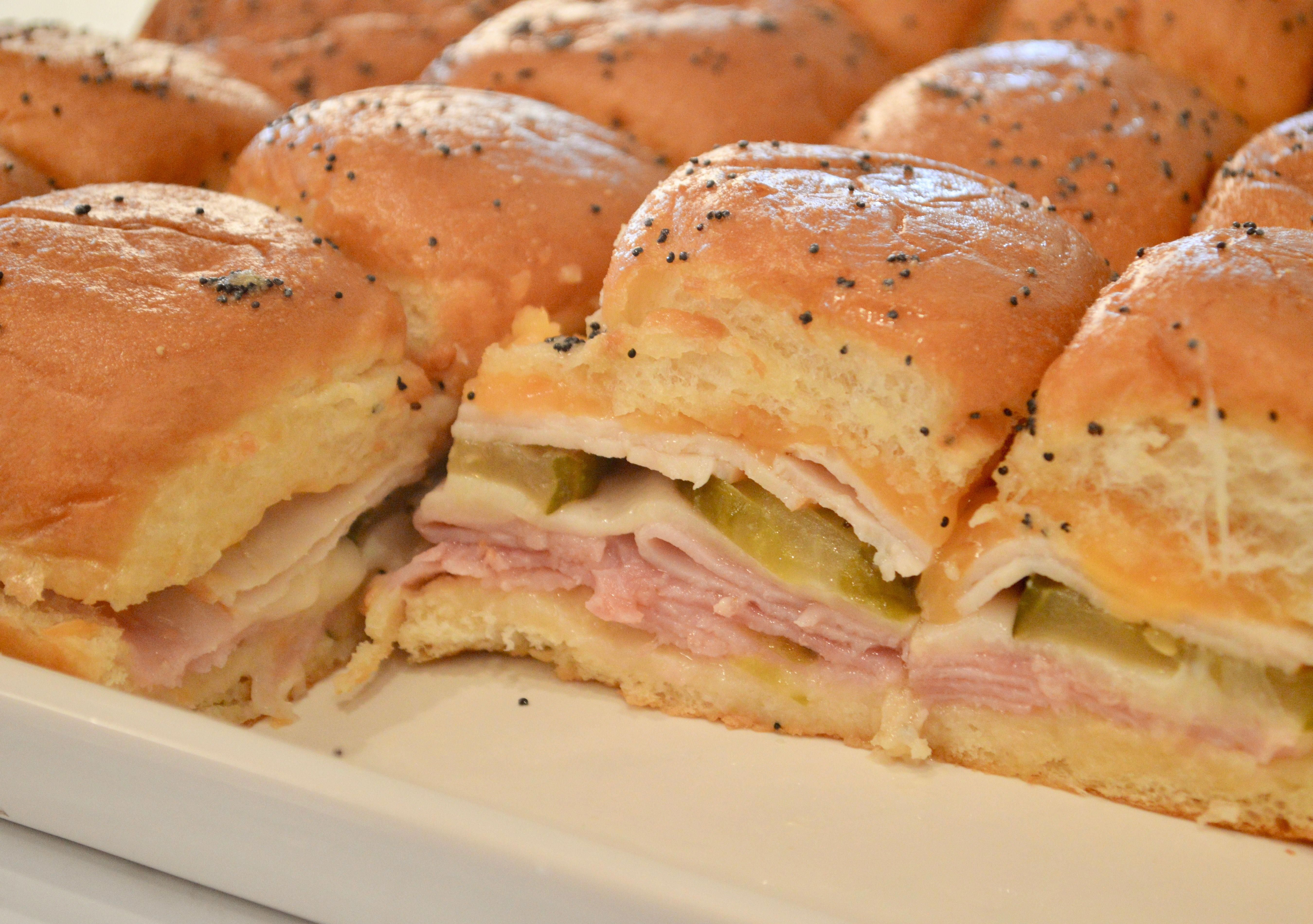Ham and Cheese Sliders | King's Hawaiian Rolls - T