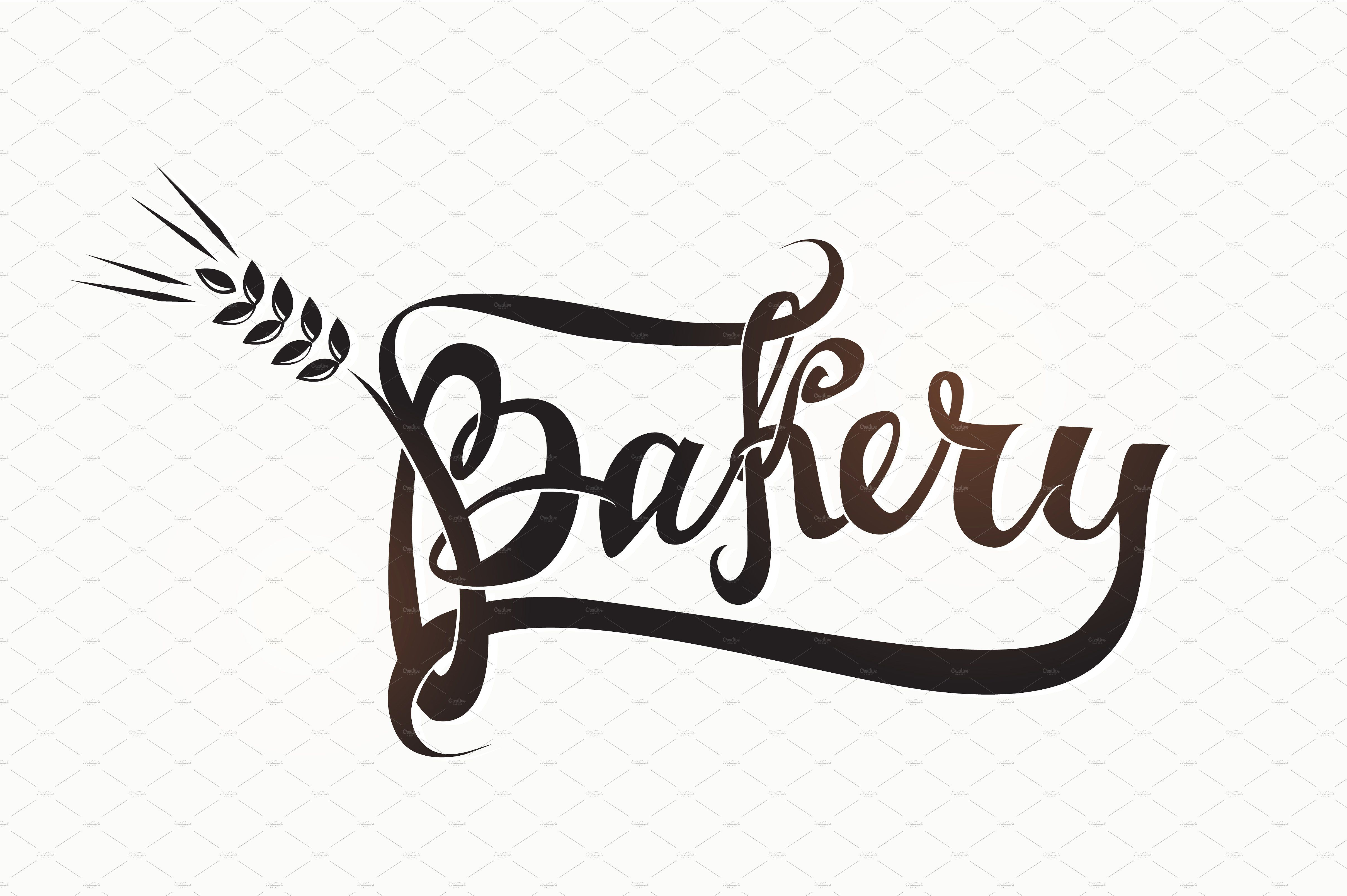 Bakery icons and calligraphy Bakery icon, Icon, Doodle icon