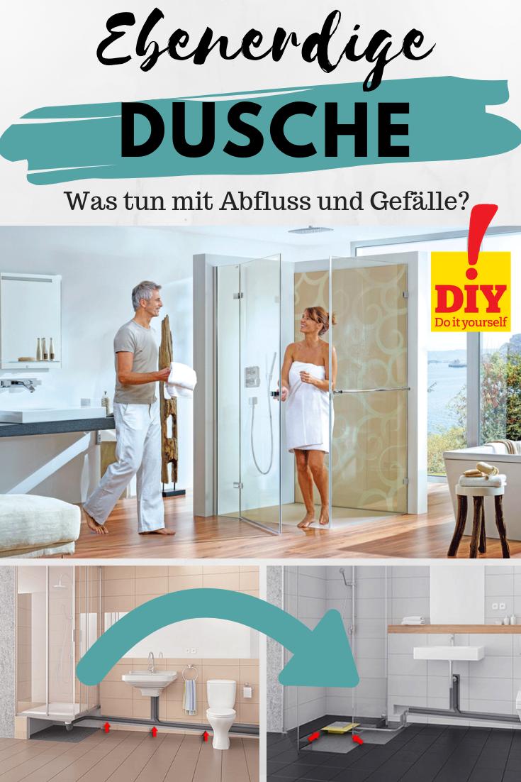 Bodengleiche Dusche Einbauen Anleitung In 2020 Mit Bildern Skandinavisches Badezimmer Dusche Einbauen Dusche