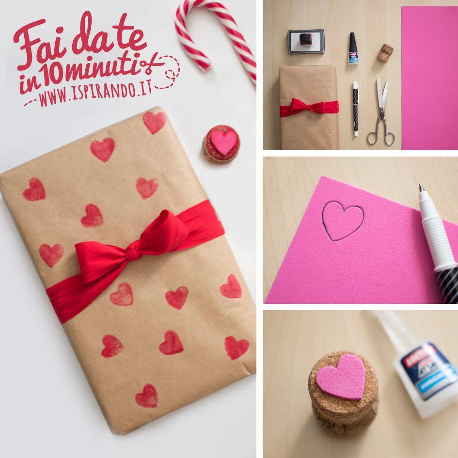 Creare Un Timbro Con La Gomma Crepla Per San Valentino Diy And