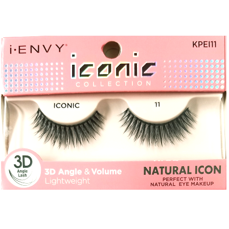 c2f7ce5b097 Kiss i-ENVY iconic Collection Natural Icon 3D Angle Eyelashes 1 Pair Pack -  iconic 11 #KPEI11 $4.49 Visit www.BarberSalon.com One stop shopping for ...