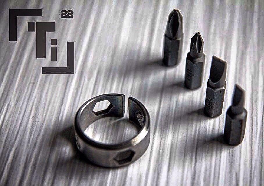 """Ti - the titanium 1/4"""" bit driver"""