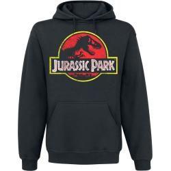 Jurassic Park Distressed Logo Kapuzenpullover