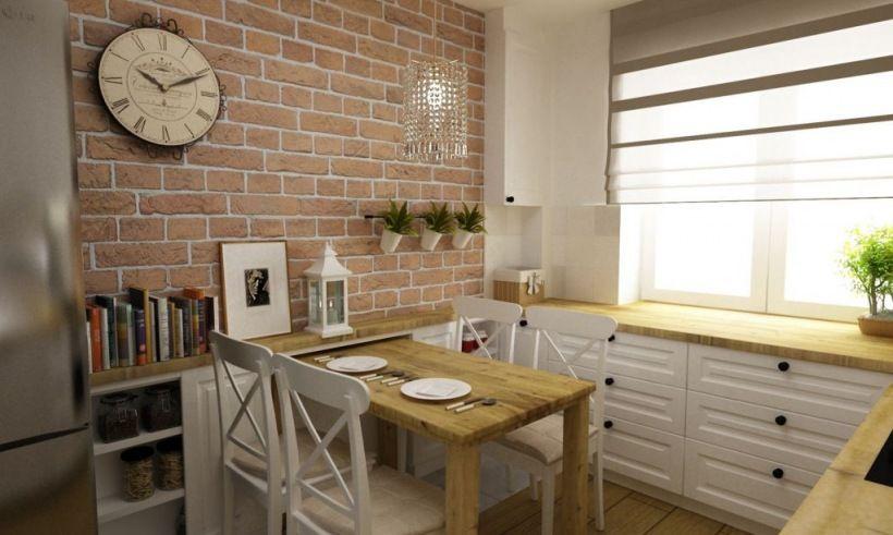 Czerwone Cegly W Kuchni Lovingit Pl Home Decor Dream Kitchen Home