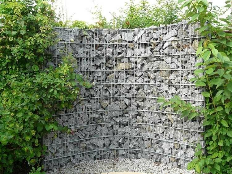 muro piedras forma redonda - Muro De Piedra