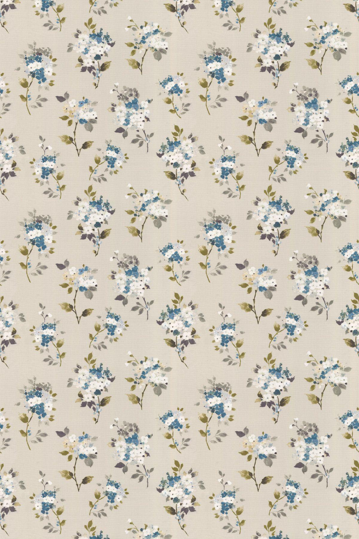 Merewood by Prestigious Bluebell Fabric 5015/768 벽지
