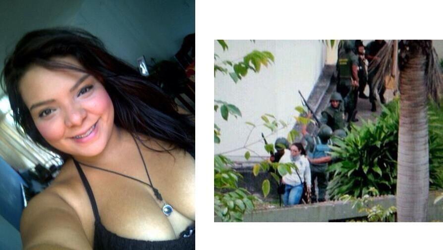 URGENTE @FARFAN_UDO:Luicelis Vanesa Orea estudiante de Medicina de la UDO detenida en LosMangos,PuertoOrdaz x la GNB pic.twitter.com/s81lX38Uc5
