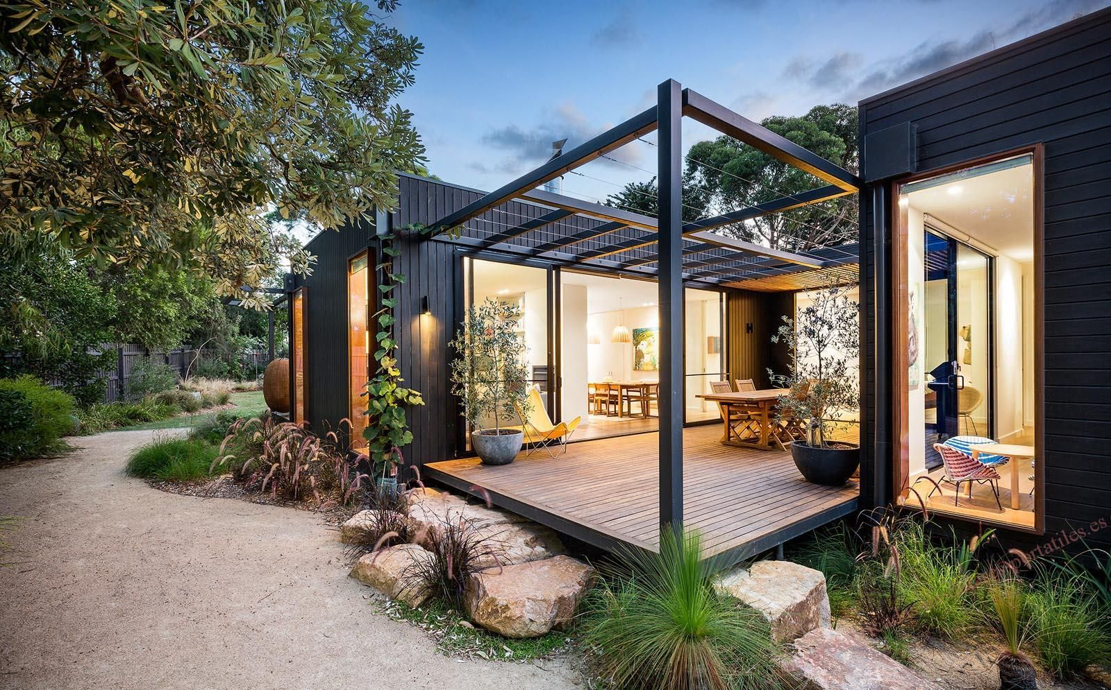 Steel Pergola Cheap Prefab House Building A Container