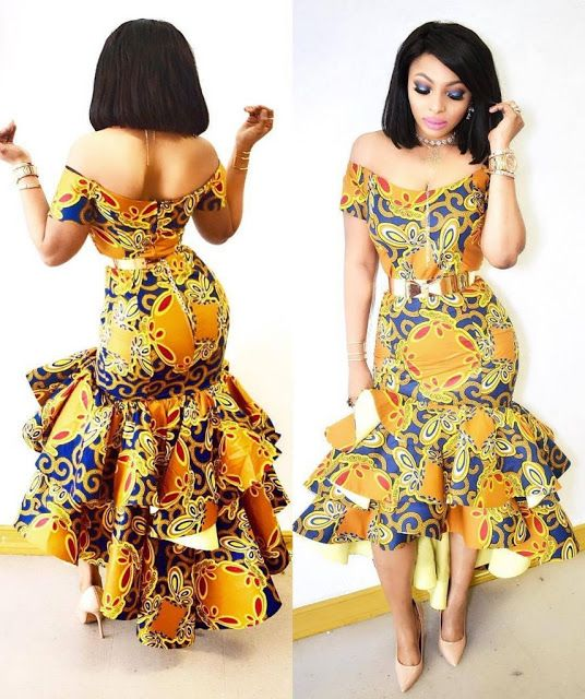 Creative Ankara Gown Style for Ladies - DeZango Fashion Zone 53ab90e24d3c
