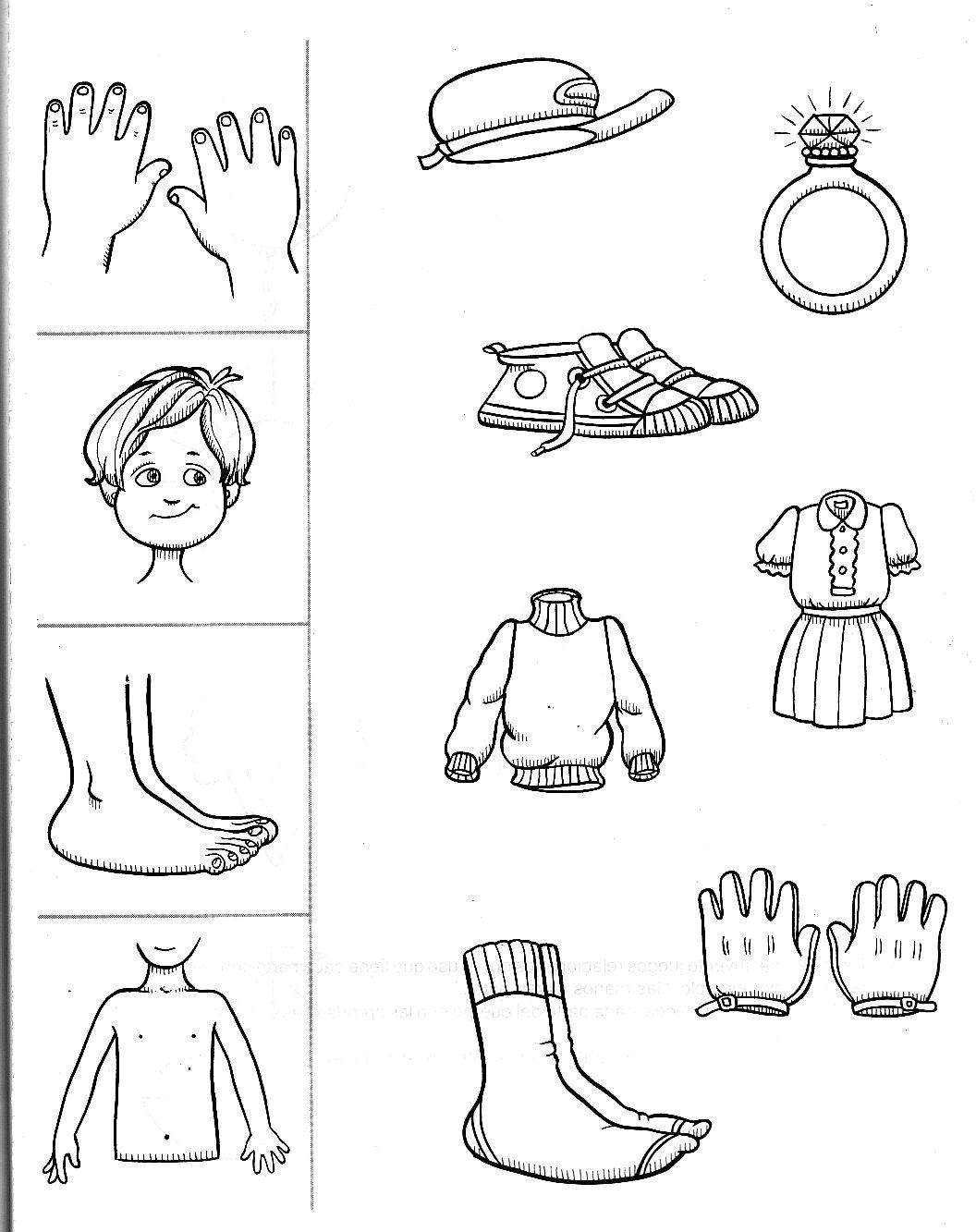 fichas los sentidos | trabajo para los niños | Pinterest ...