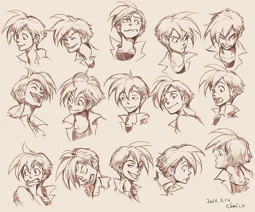 Character Design Expression : Expression design of panchito by chacckco viantart