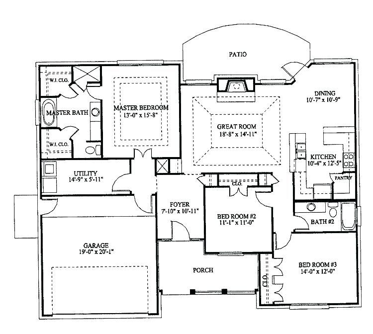 Tyuka Info Shop House Plans House Floor Plans Bungalow House Plans