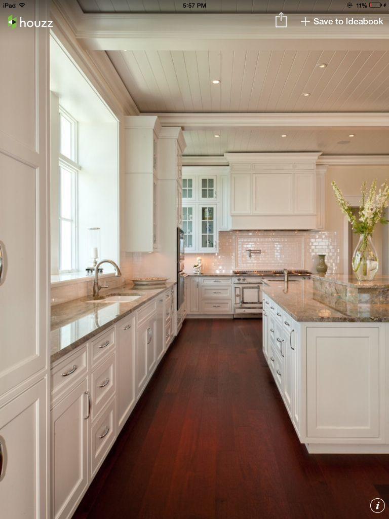 Mahogony In 2020 Wood Floor Kitchen Kitchen Design Mahogany Kitchen