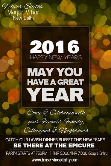 Fraser Suites Hotel Fraser Suites New Year Celebration New