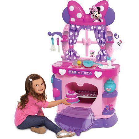 Minnie Flipping Fun Kitchen Ages 3 Walmart Com Minnie Mouse Kitchen Minnie Minnie Mouse Toys