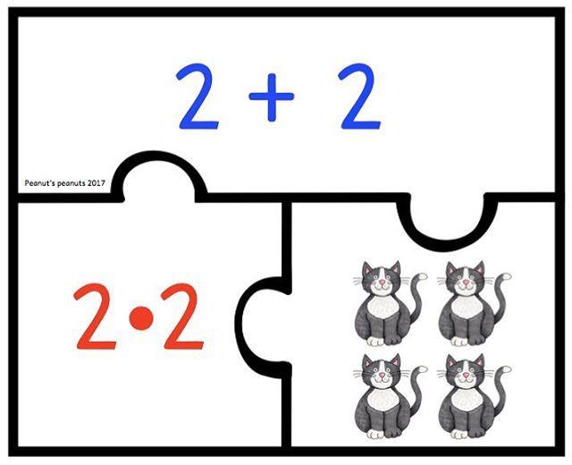 quadratzahlen puzzle von peanut 39 s peanuts 1x1 einmaleins quadratzahlen quadratzahlen. Black Bedroom Furniture Sets. Home Design Ideas