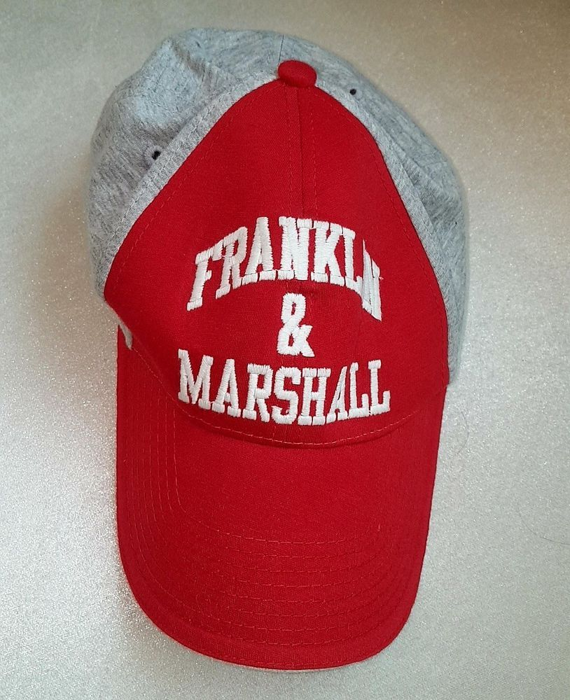 f490648f80d1e Franklin  amp  marshall red hat  fashion  clothing  shoes  accessories   mensaccessories