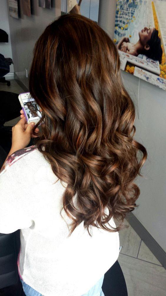 23 Best Dark Brown Hair Color Ideas For 2018 Pinterest Honey