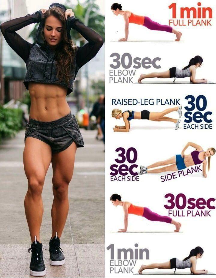 #seitenplankenvariationen #definierten #estética #abnehmen #möchten #fitness #besten #taille #formen...
