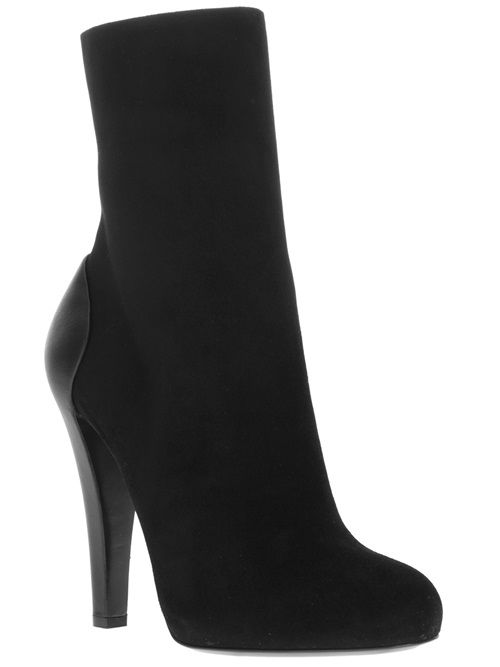 Only New In - Gucci Contrast Heel Ankle Boot - Tessabit.com – Luxury Fashion For Men and Women: Shipping Worldwide