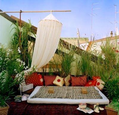 Ideas decoracion de jardines terraza zen rincon descanso recuperando rincones en casa - Decoracion jardin zen ...